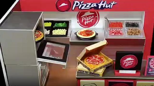 可可爱爱的披萨快速店,速递美味从迷你手工开始